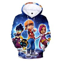 Men's Hoodies & Sweatshirts Hip Hop Game BoBoiBoy 3D Men women Kids Spring Autumn Cartoon Printed Sportswear Boys girls Tops