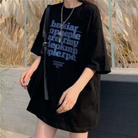 Women's T-Shirt T-shirts Women Men Summer Harajuku Letter Design Chic Fashion Oversize Ladies Tees All-match College Couples Tops Trendy