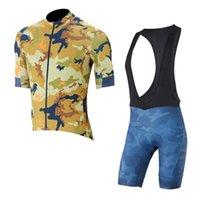 Capo Takımı Bisiklet Kısa Kollu Jersey Önlüğü Şort Setleri 2020 Bisiklet Giysileri Nefes Giyim Ropa Ciclismo U20030702