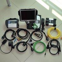 مستعمل Laptop CF-19 SD Connect MB Start C4 for BMW ICOM التالي مع أحدث تثبيت البرامج في 1PC Auto Diagnostic Tool Scanner
