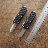 MT MINI Sea Dragon D2 Blade Tactical Double Action automatic Knife Aluminum Alloy Handle EDC Tool Hunting Pocket Knives