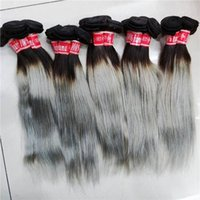 Love Human hair straight Indian blonde grey weaves 10pcs lot different colors Happy sister new wefts