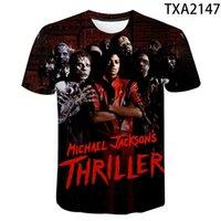 Camisetas Con Estampado 3D Baile Callejero Para Hombre, Mujer, Nio Y Nia, Camiseta Popular de Michael Jackson