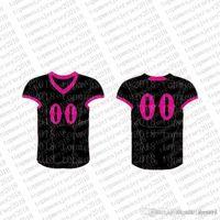 Top Custom Football Jerseys Mens Embroidery Logos Jersey Free 1Cheap wholesale Any name any number Size S-XXXLyyye