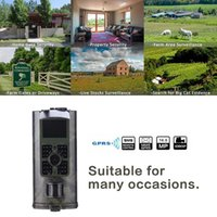 Hunting Cameras Camera 2G GSM MMS SMS Trail Mobile 16MP Night Vision Wireless Wildlife Surveillance HC700M
