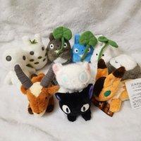 Yeni Orijinal Komşum Totoro Kedi Otobüs Kiki Toz Peluş Bebek Çocuk Oyuncakları Ghibli Hediye Prenses Mononoke