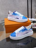 Louis Vuitton Shoes LV 2021 Moda Zapatillas de deporte casual de la plataforma de la plataforma de la impresión de zapatos de las mujeres tamaño 35-42