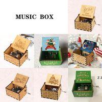 Wooden Handcrafted Music Box Christmas Birthday Valentine's Day Gift HWF7837