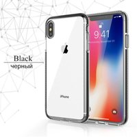 Two tone Soft Silicone TPU phone Cases For coque iPhone 13 pro max 12 mini XS Max XR X 7 8 Plus Cover Transparent Clear Case