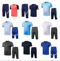 2021 Real Madrid футбольная спортивная рубашка 3/4 брюки 20 21 Maillots de Футбол с коротким рукавом Бегагинг Футбол Костюм S-XXL