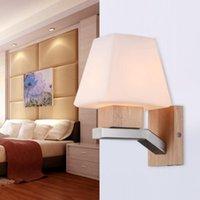 Настенные светильники Lukloy Китайский энергосберегающий светодиодный лампа Современный творческий свет спальня дома освещение проход гостиной кухонный офис