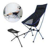 Muebles de campamento Taburete portátil COLLAPTING Reproducción para la silla de playa para acampar Pesca plegable Pesca al aire libre BBQ PIE REPLINER
