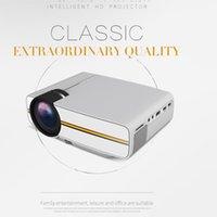 Yüksekliği Kaliteli YG400 Mini Taşınabilir LED Projektör 1000Lümen 800 * 480 DPI LCD Homeater Projektör Desteği 1080 P Proyector HDM VGA USB Projektör