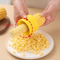 Household Corn Threshing Machine Gadgets Pure Color Corns Separator Kitchen Practical Accessories Multicolor New Arrival OOD5551