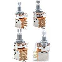 Guitar Switch Knob A500K B500K A250K B250K Push Pull Control Pot Potentiometer Volume