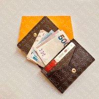 Zarfpe Carte de Visite M63801 ER Moda Erkekler Coin İş Kredi Kartı Bilet Tutucu Anahtar Kılıf Lüks Cep Organizatör Cüzdan N63338 W40H Wisdonn
