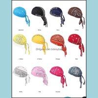 Beanie Skl Hats Caps Hats, Scarves & Gloves Fashion Aessories Mens Durag Hip-Hop Rapper Pirate Turban Cotton Hat Headband Headwear Outdoor C