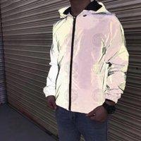 21SS Mens Bayan Tasarımcılar Ceketler Casual Hiphop Rüzgarlık Yansıtıcı Güneş Kremi Ceket Klasik Giyim Marka Adam S Giyim Severler Spor Coat2525