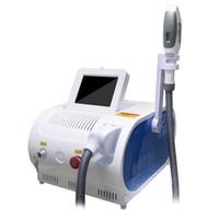 Professionelles IPL-Laserdiode Haarentfernungsmaschine SHR Opt 480nm 530nm 640nm q Schalter Hautpflege-Therapie Schönheitsgeräte