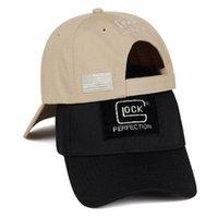Тень Весна Летний взрыв Глока бейсболка Cap Hip-Hop Caps Мода Хломатные колпачки Sun Hats Регулируемые Гольф Шляпы Snapback Hats Gorras
