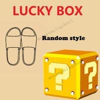 Interesting Lucky Box Random style Yee Slides Pure Resin Desert Sand Enflame Orange Black White Size 36-45 Moon Grey Cream Clay Foam Sandals Surprise For Friend