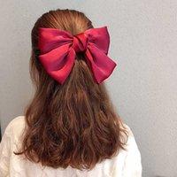 Детские взрослые Многоцветные мода Hairpin Big Bow Симпатичные волосы Принадлежности для волос Hairpin Fair Pailly Gifts удобны и практичны