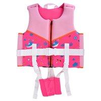 Crianças surfando natação veste veste crianças jaqueta meninos grils zíper nadar água esportes salvando equipamentos bóia