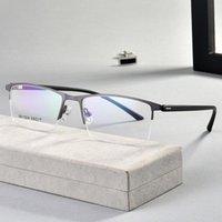 Moda occhiali da sole cornici bicchieri telaio uomo miopia occhio bicchiere da vista occhiali da vista 2021 occhiali ottici coreani TR90 in lega di titanio