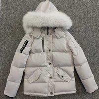 21SS 무료 배송 망 캐주얼 다운 재킷 스타일 캐나다 남자 겨울 무스 코트 따뜻한 outwear Parkas 야외 너클 집 더돌