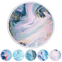 Carpets Beach Towel Microfiber Soft Round Blanket Tablecloth Yoga Mat Carpet Tapestry For Home Decor Picnic Po Prop