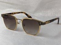Nuevo diseñador de moda Gafas de sol CRH NastyFreez Frame de metal cuadrado estilo punk retro Hot UV400 Protection Eyewear