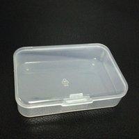 2021透明なプラスチックジュエリーボックスハードピースケースホルダーポータブルボックスビタミン小型ファッションアクセサリーオーガナイザー収納容器