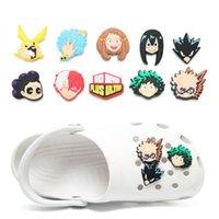 moq=100pcs lot anime comic Sasuke soft pvc shoe charms jibtz for clog babe accessories cartoon shoes ornaments decorations as promotional gift