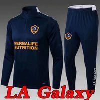 MLS 2021 Los Angeles La Galaxy Tracksuit Soccer Jersey 20 21 Adulte Tracksuits Entraînement Entraînement Homme Football Shirt
