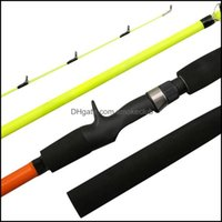 Boat Sports & Outdoorsboat Fishing Rods Outdoor Light Weight Carbon Rod Portable Spinning Casting 1.6  1.8  2.1 2.4 M Drop Delivery 2021 Sog