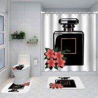 Оптовая продажа классического дизайна Душевые занавески Водонепроницаемая ванная комната Расходные материалы Многофункциональный разделительный занавес для ванны