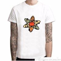 The Big Bang Theory Männer T-shirt Rock Papierschere Eidechse Spock Sheldon Cooper Tops Kurzarm T-Shirt Bazinga T-Stück Tops YH040Soccer