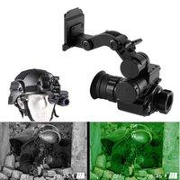 Digital Night Vision Scope Monocular com Capacete Monte HD Visões Infravermelhas Óculos de Rifle Scopes para Floresta de Caça Observe