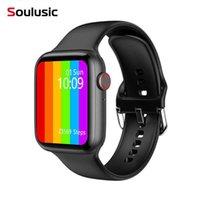 Серия 6 Smart Watch 2021 IWO W26 Pro SmartWatch ECG Монитор сердечных частот Температура водонепроницаемый PK IWO 8 13 для Apple Android