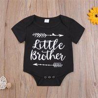 Newbaby الرضع الصبي الملابس رومبير فتاة إلكتروني الطباعة قصيرة الأكمام السروال القصير الرومانس تسلق 100٪ القطن الصيف القماش EWC7373
