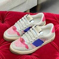 Luxusdesigner Schuhe für Männer Frauen Paare Europa und Amerika Handtuch Plüsch Rot Grüner Leder Stern Mode Sport Wohnung Boden im Freien 35-45