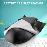 Motorcycle Cars Leather Seats Cover Wear-Resistant Universal Motorbike Scooter Electric Car Seat Protector Black
