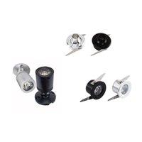 Mini LED Spot Işık Kitleri Kabine Puck Spot Işıkları Downlight Mutfak Ekran Sayacı Takı Dolap Dolap Vitrin 1 W 12 V