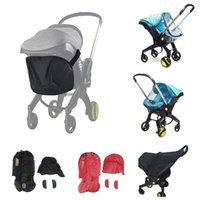 Accesorios de cochecito de bebé para Doona Asiento de coche Cubierta de lluvia Cambiar kits de lavado Bolsa de almacenamiento Mosquito Net Mamá Mamá Bolsa de viaje Footmpuffin