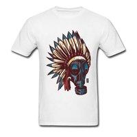 CCCCSPORT2018 Art Black Tshirts para adultos Vestido para hombre T Shirts Tribu Gas Sugar Skull T-shirts 100% ropa de tela de algodón Sin botón