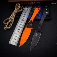 New Butterfly BM 15200 Blade fisso Altitudine Caccia Coltello da caccia integrata Keel 440C Blade Tactical Antiskid Maniglia Outdoor Survival Tasca coltelli