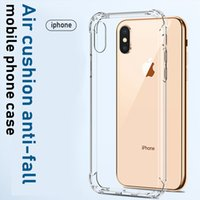 Transparent Air Cushion Anti-fall Phone Cases IPhone 11 12 13 Apple Pro XR Mobile ProMax Silicone Soft Shell Mini All-inclusive Lens Protective Cover