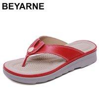 BEYARNE women summer slides, wedge slipperE562 210622