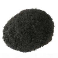 Тонкая кожа 100% Человеческие волосы Topee Мужские Парики Все Poly Волосы Зарачаемые Человек Парик Волос Натуральный Topee