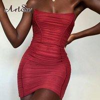 Элегантные платья для партии Ruched Sexy Off Bey Mini вечерний клуб Bustier Corset платье bodycon рождественские дт